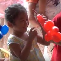 カンボジア プノンペンの孤児院で 公演させて頂きました。 ②