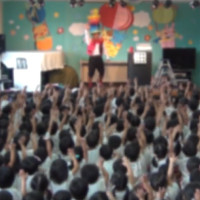 熊本県菊池郡・大津音楽幼稚園にて 被災地支援のバルーンショー 〜 ボランティア活動報告 ~