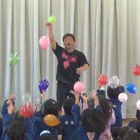 精華幼稚園のお誕生会に出演させて頂きました。 〜 岐阜県多治見市 〜