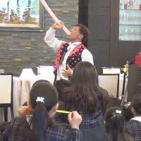 陽明旭幼稚園の卒園お祝い会に出演させて頂きました。 〜 愛知県名古屋市 〜