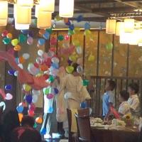 岐阜県岐阜市・結婚披露宴でのサプライズバルーンショー ~ イベント企画報告 ~